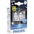 Лампы светодиодные PHILIPS X-tremeVision T10 LED 12V 8000K к-т