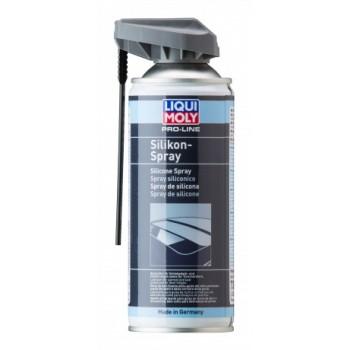 Бесцветная смазка силикон ЛИКВИ МОЛИ/LIQUI MOLY 7389 ProLine Silikon Spray 400мл
