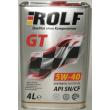 Масло РОЛЬФ/ROLF GT SN/CF 5W40 синтетическое бочковое на розлив