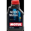 Масло MOTUL 4000 Motion 15W40 1Л минеральное