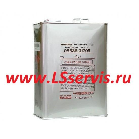 Жидкость для АКПП ТОЙОТА/TOYOTA TYPE T-IV синтетика 4 литра
