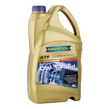 Масло для АКПП RAVENOL ATF DW1 Fluid /HONDA/ 4 литра 4014835741898