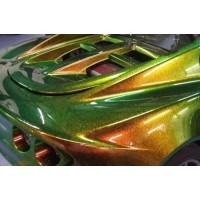 Эмаль базовая автомобильная ремонтная КУДО/KUDO металлизированная 1К